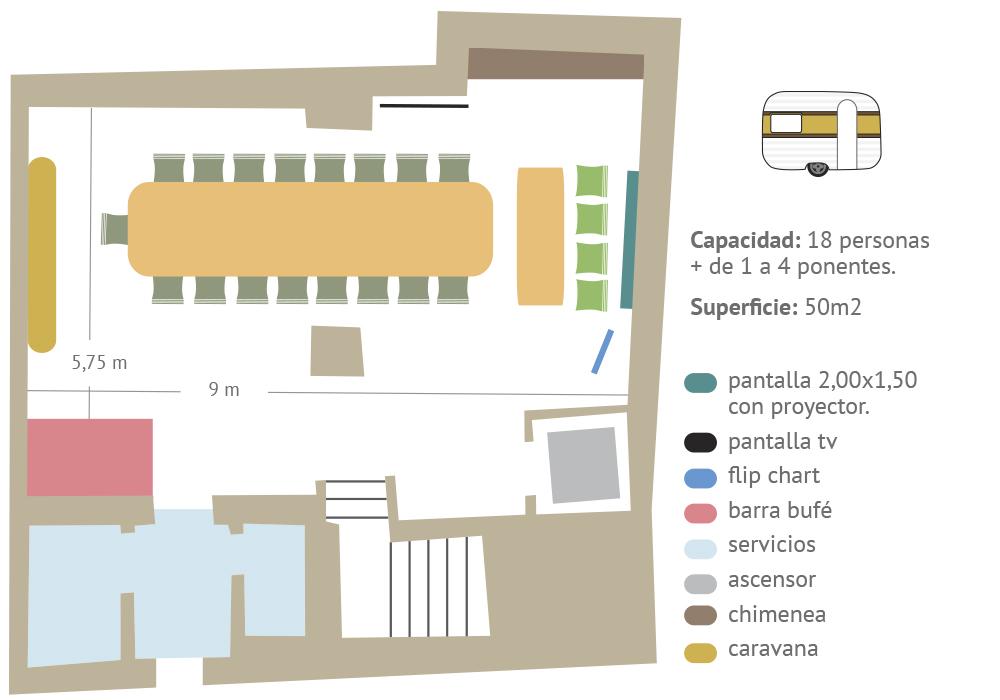 Eventos sala caravana presentaciones y reuniones en Zaragoza