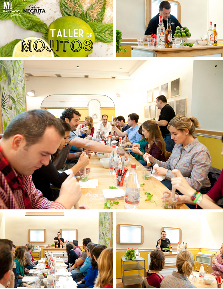 Taller de mojitos para fiestas y celebraciones en Zaragoza