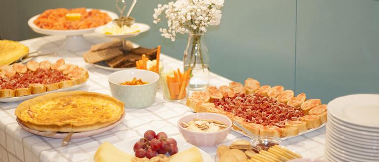celebraciones fiestas familiares y bautizos, comuniones, cumpleaños en zaragoza
