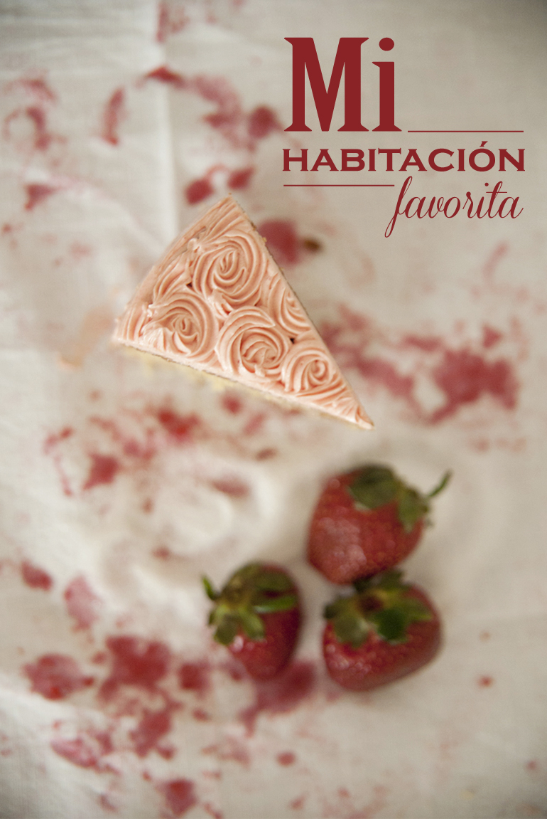 Tarta casera de fresa y vainilla mi habitaci n favorita for Mi habitacion favorita zaragoza