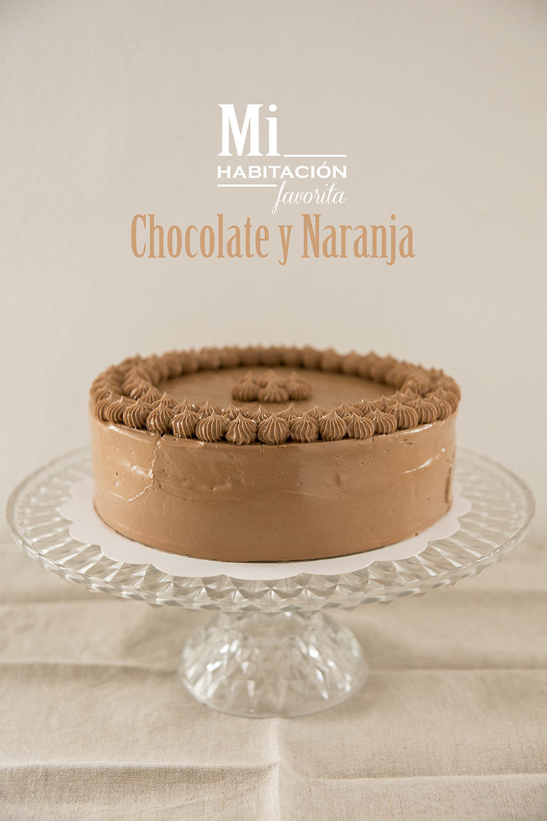 Tarta chocolate y naranja casera y con ingredientes naturales Zaragoza