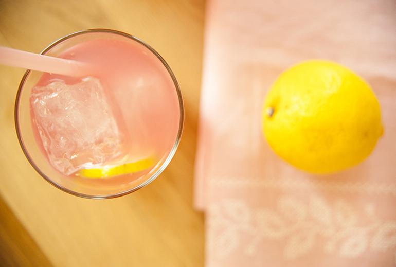 limonada rosa para celebraciones defiestas en Zaragoza