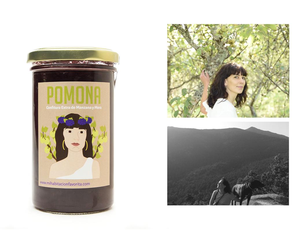 POMONA. Confitura Extra de Manzana y Mora.