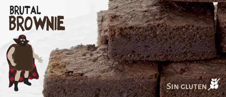 Sin Gluten Brownie para celiacos Zaragoza