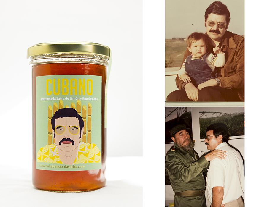 Mermeladas homenaje familia CUBANO