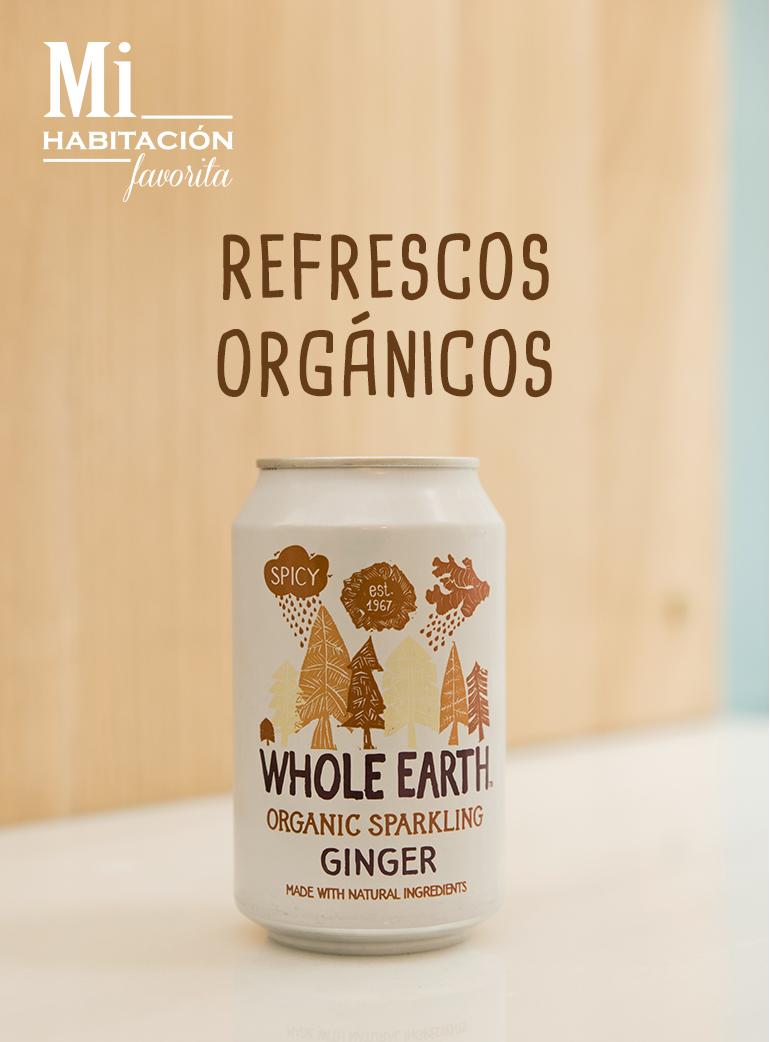Refrescos orgánicos naturales veganos vegetarianos celiacos Zaragoza