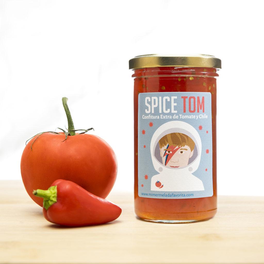 SPICE TOM. Confitura Extra de Tomate y Chile. Mi MERMELADA favorita. Zaragoza