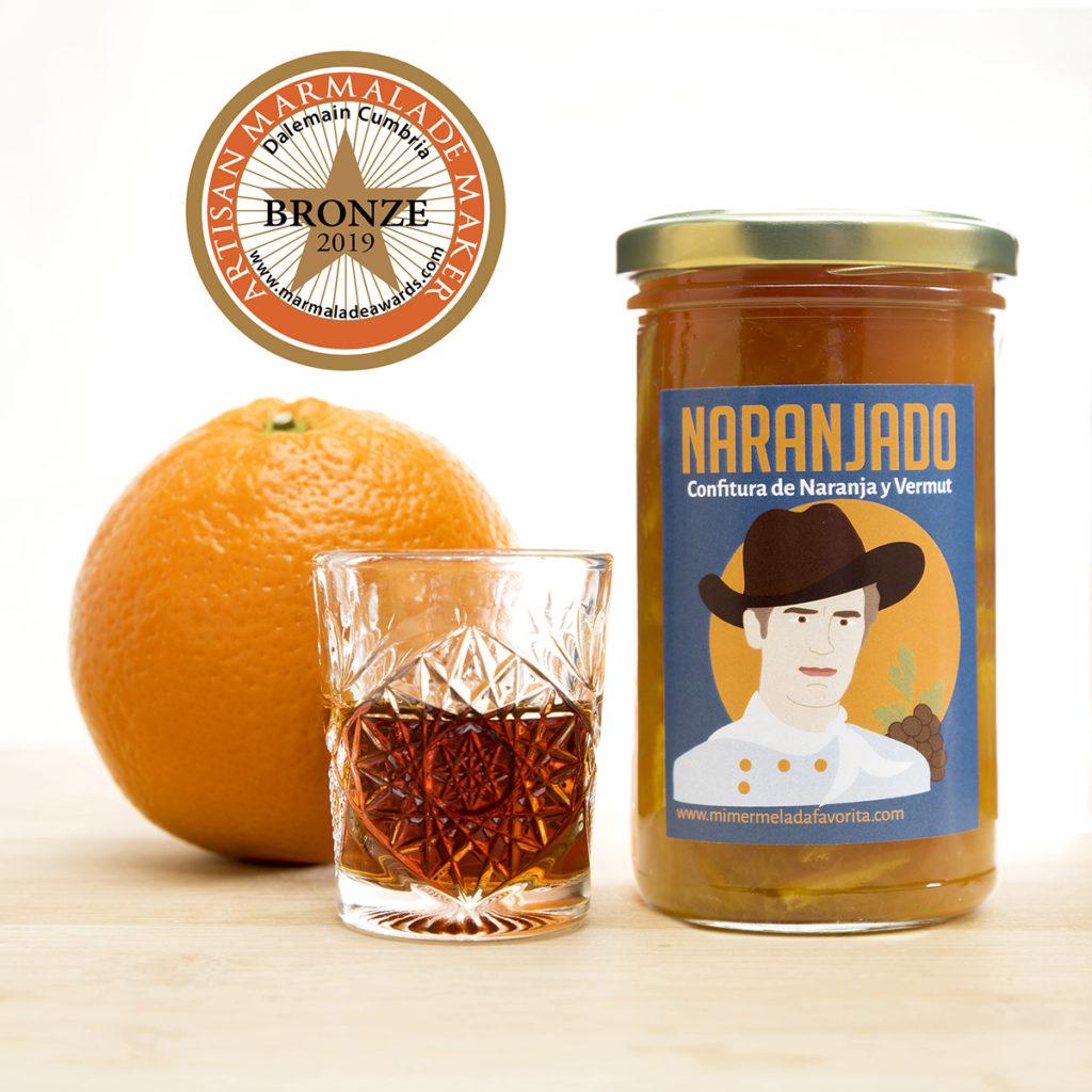 NARANJADO. Confitura Extra de Naranja y Vermut. Mi MERMELADA favorita. Zaragoza