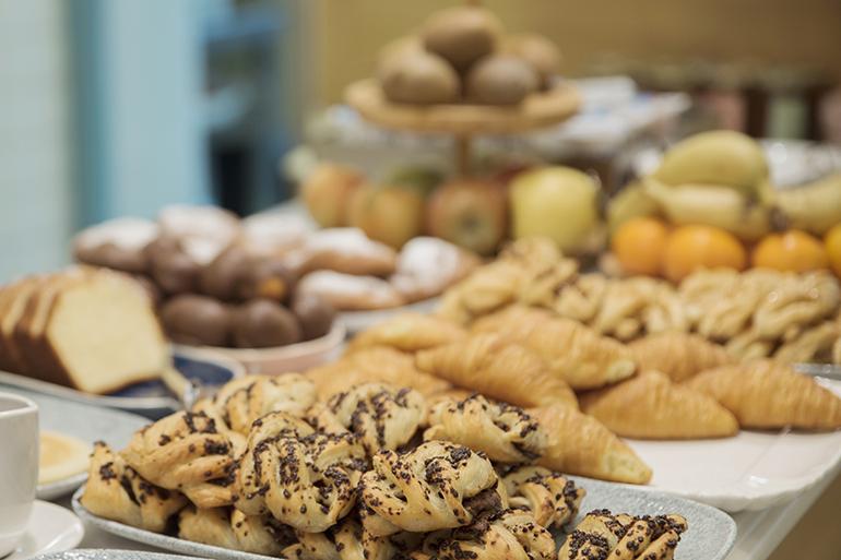 Bolleria recien horneada desayuno Zaragoza