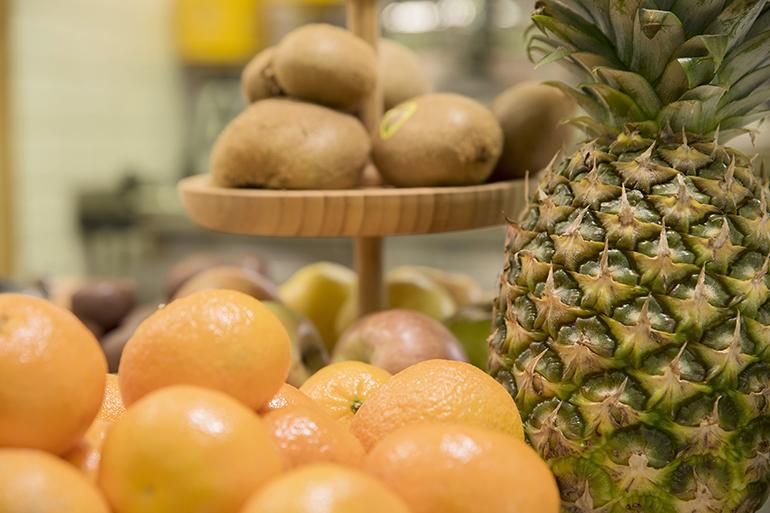Fruta desayunos buffet libre Zaragoza
