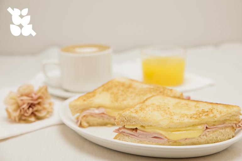 Desayunos sin gluten Zaragoza Sandwich mixto