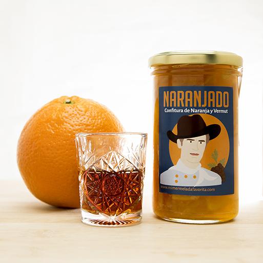 Mermelada artesanal de Naranja y Vermut