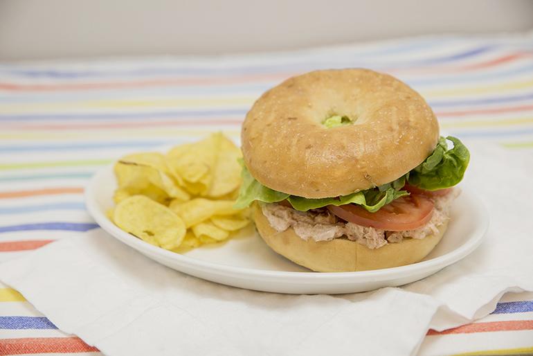 meriendas cafetería Bagel o sandwich, SIN GLUTEN Zaragoza
