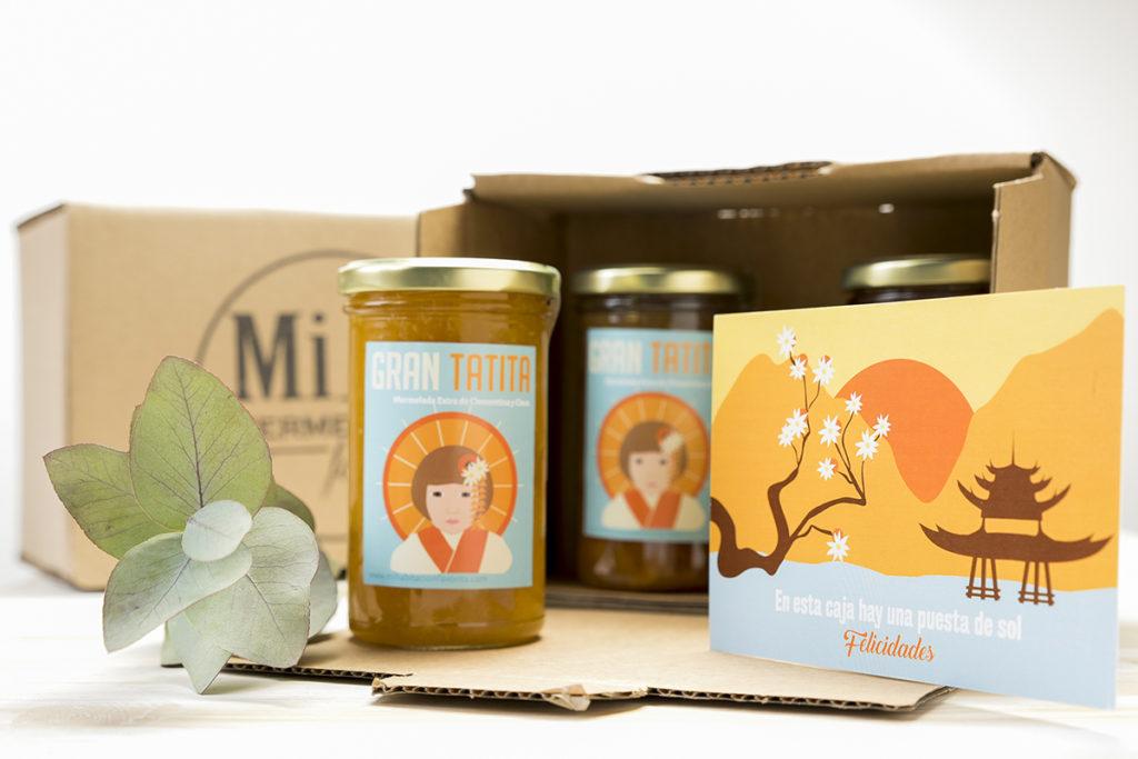 Regalo original dia de la madre mermelada artesanal clementina