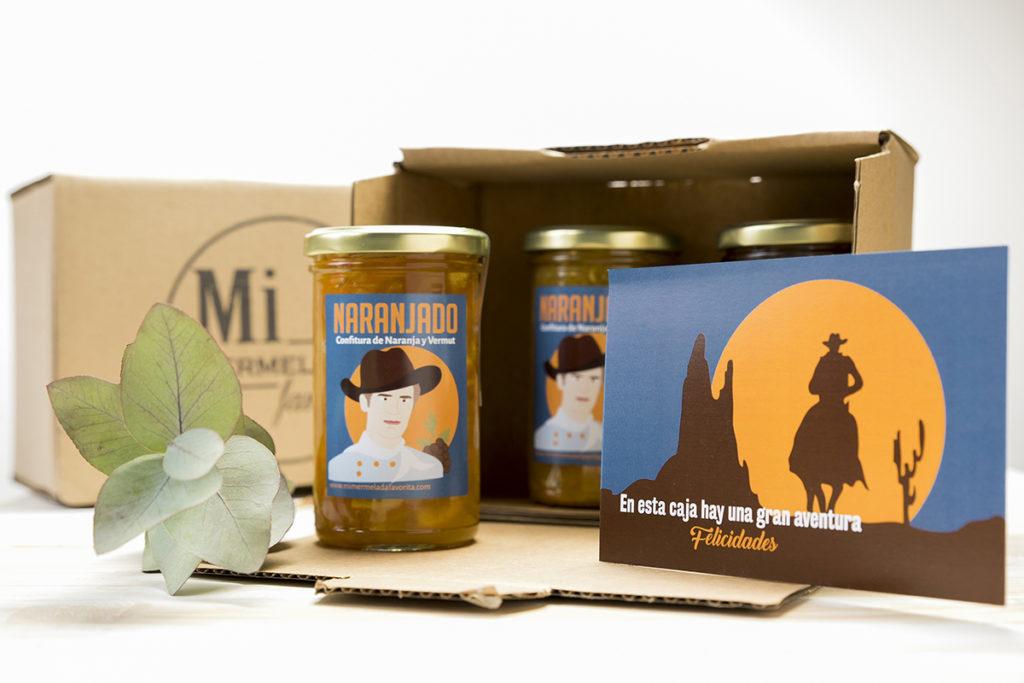 Mermelada artesana regalo gourmet regalo original Zaragoza