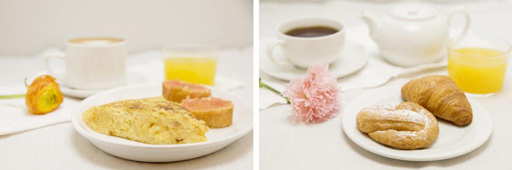 Desayunos en Zaragoza. Breakfast Zaragoza.