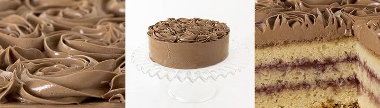 Tarta de chocolate para cumpleaños y celebraciones Zaragoza