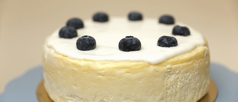 Tarta de queso New York cheese cake Zaragoza sin gluten