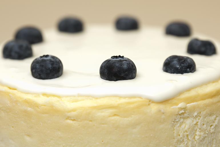 Tarta de queso New York cheese cake Zaragoza sin gluten