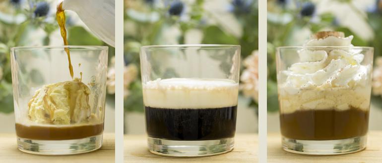 Cafe con licor en Mi HABITACION favorita. Café Irlandés, Escocés y Affogato. Zaragoza.