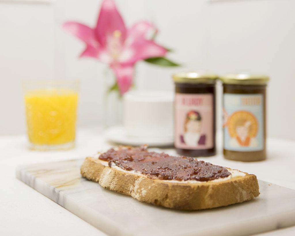 Un buen Desayuno en Zaragoza Mi HABITACION favorita mermeladas gourmet. SIN GLUTEN