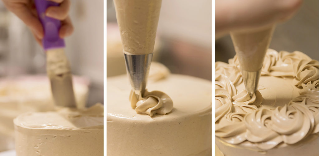 Elaboracion artesanal de tartas con los mejores ingredientes. Avellanas con Chocolate. Zaragoza