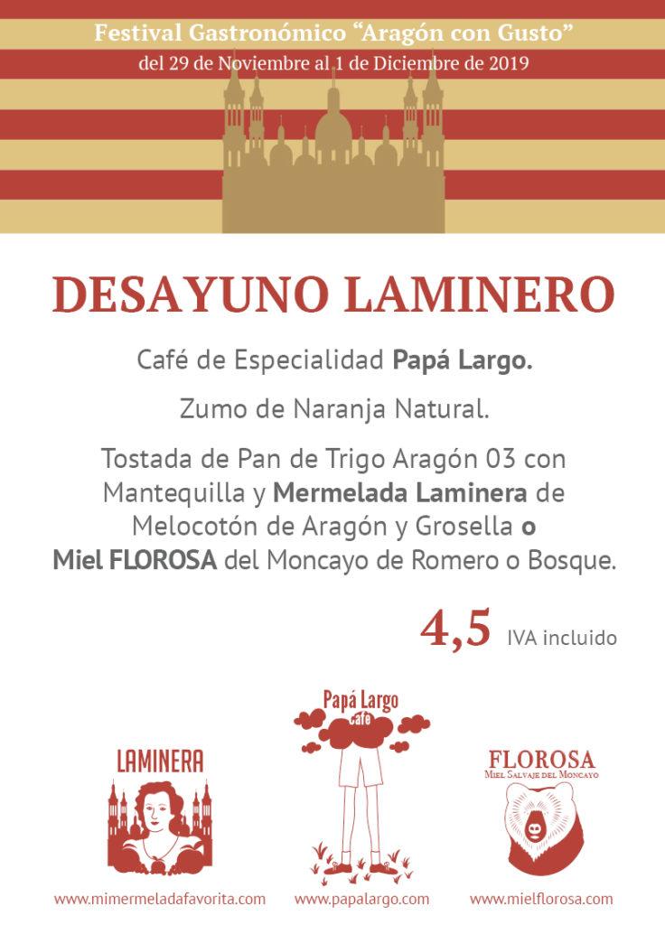 Festival Gastronómico Aragón con Gusto en Mi HABITACION favorita Zaragoza