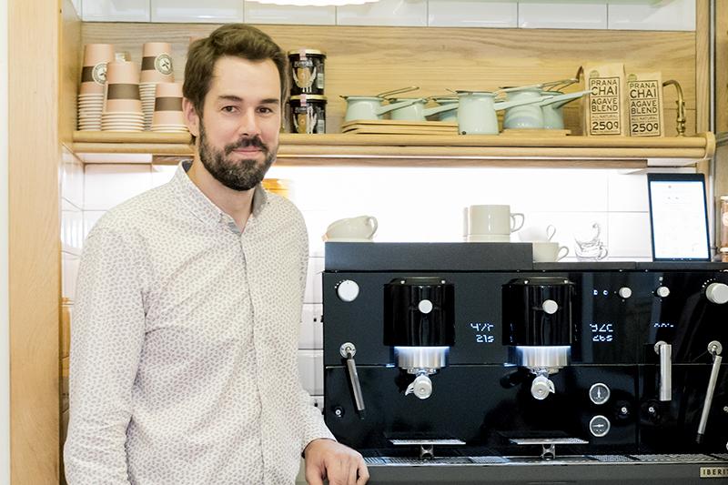 Café de Especialidad Papá Largo preparado con la nueva VISION de iberital