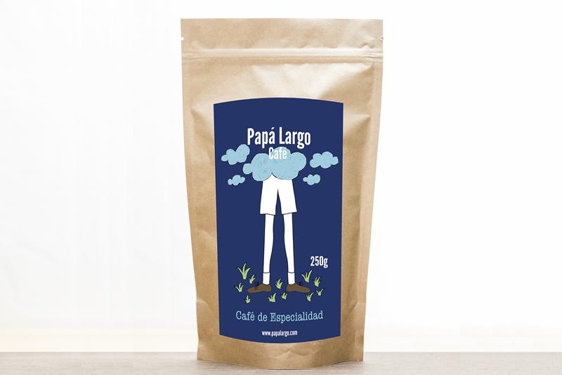 Nuestro Café Papá Largo es un café 100% arábica. Origen Brasil. Café especialidad Zaragoza