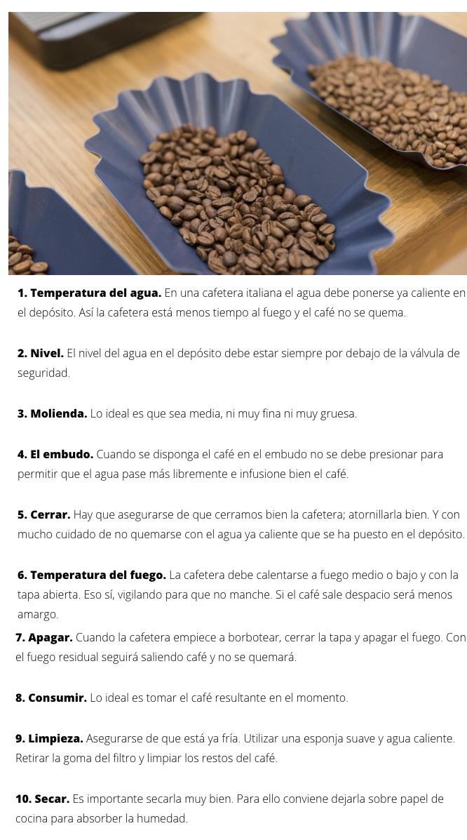 Café de especialidad en cafetera italiana en Zaragoza Mi HABITACIÓN favorita