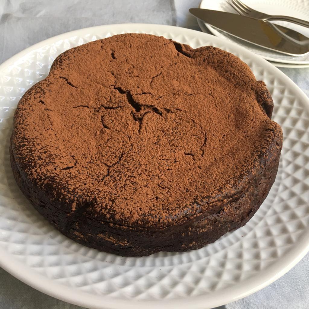 tarta chocolate sin gluten