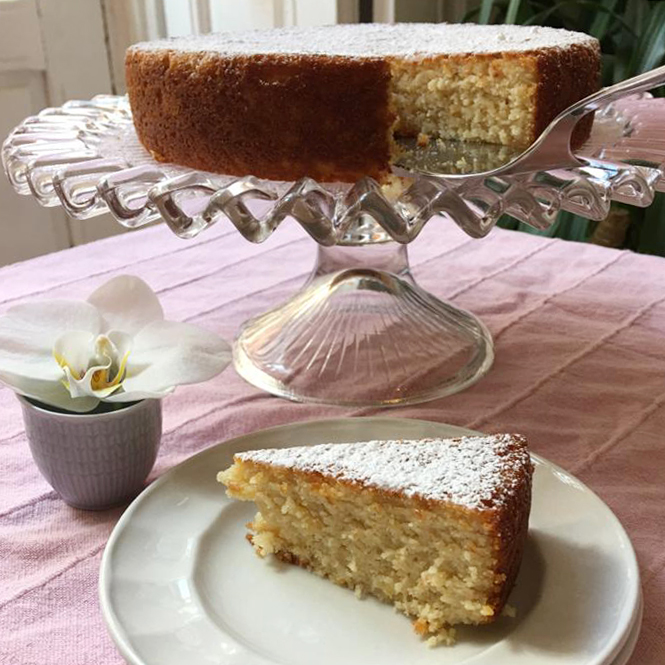 Recetas fáciles tartas para hacer en casa. Bizcocho de limón y almendra. SIN GLUTEN. Mi HABITACION favorita Zaragoza