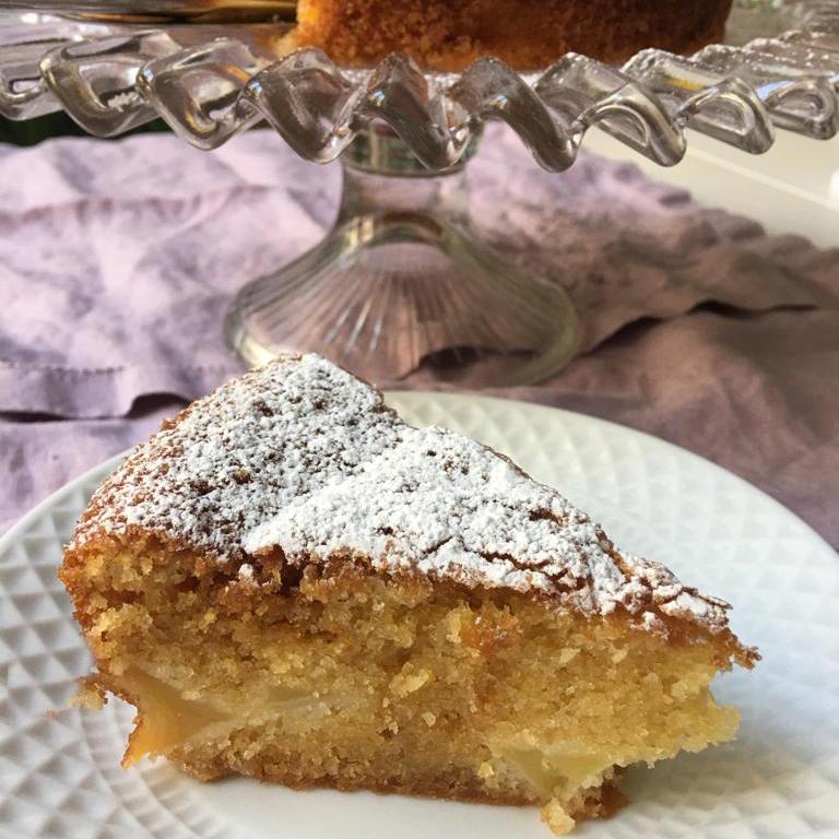 Recetas fáciles tartas para hacer en casa. Bizcocho de manzana. Mi HABITACION favorita Zaragoza
