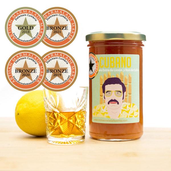 Mermelada CUBANO de limón con Ron