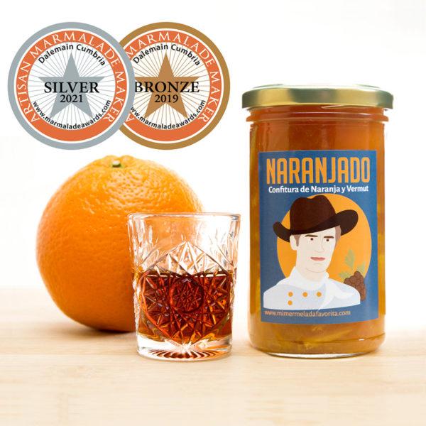 Naranajado mermelada de naranja y vermut