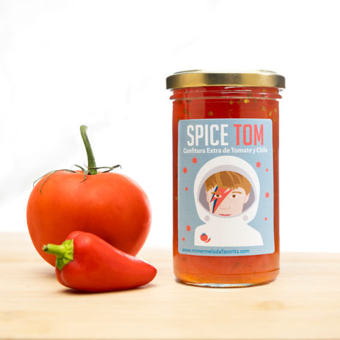 Mermelada SPICE TOM de Tomate y Chile