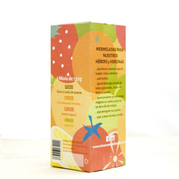 Caja degustación Mermeladas sabores Cítricos
