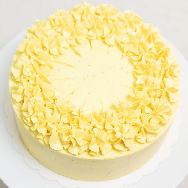 Tarta de cumpleaños mango y maracuyá