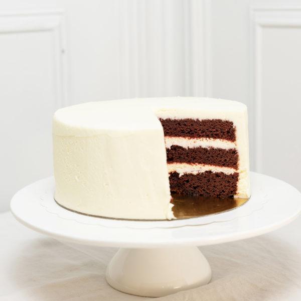 Tarta de cumpleaños red velvet