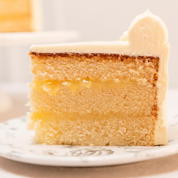 Tarta de limon con curd