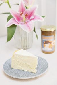 Tarta de queso con mermelada NARANJADO