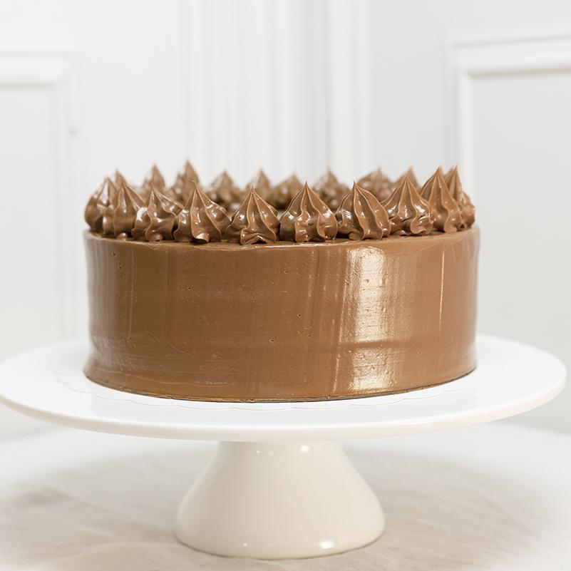 Tarta de cumpleaños Chocolate y naranja amarga