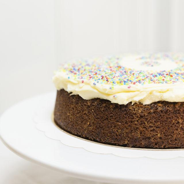 Tartas de Cumpleaños Sin gluten.