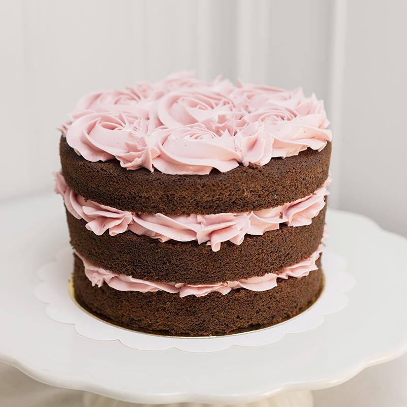 Comprar tarta de chocolate y frambuesa
