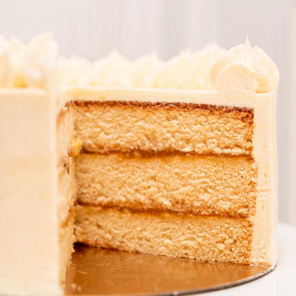 interior tarta de coco