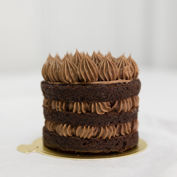 Pastel favorito doble chocolate