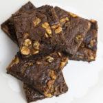 Brownie con nueces sin gluten