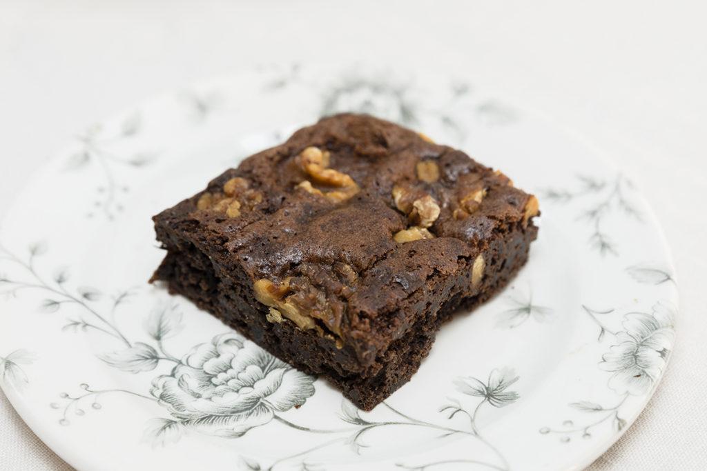 Brownie sin gluten Zaragoza