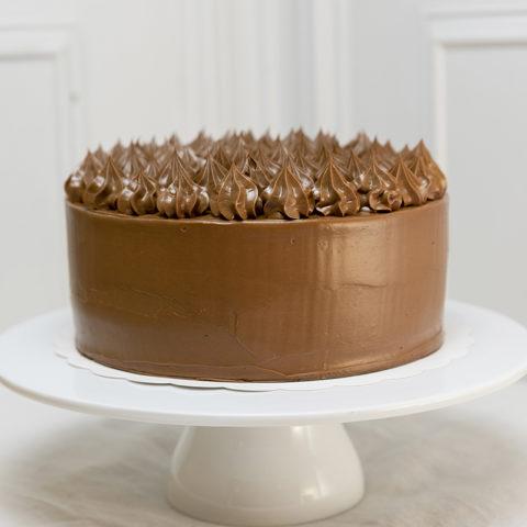 Tarta de Chocolate doble