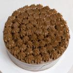 Tarta de chocolate buttrecream suizo de chocolate